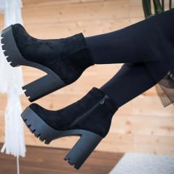 Platformas puszābaki uz papēdi, papēdis 11,5 cm , platforma 4,5 cm