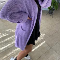 Violeta adīta jaka