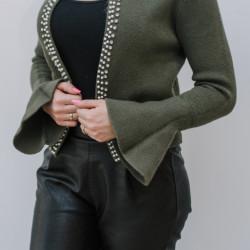 Zala jaka ar pērlītēm