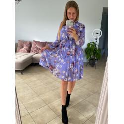 Violeta , puķaina kleita