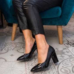 Lakotas kurpes uz papēdi, papēdis 8,5 cm