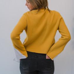 Dzeltens džemperis