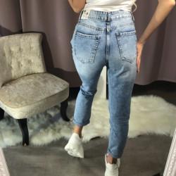 Plēstas džinsas