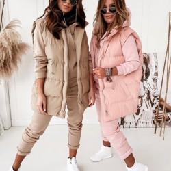 Pūderkrāsas kostīms 3 in 1 , bikses, jaka, veste