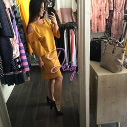 Dzeltena kleita - pleci pliki