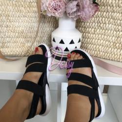 Ērtas sandales ar gumijām