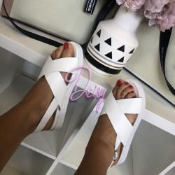 Ērtas sandales uz platormas, platforma 3cm