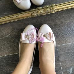 Maigi rozā balerīnas ar banti